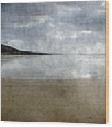 Ogmore Beach Wood Print