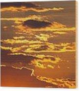 Ograzhden Mountain Sunset Wood Print