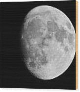 Oh La Moon Wood Print