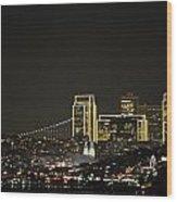 Oh San Francisco Wood Print