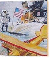 Ohio Aviation Wood Print