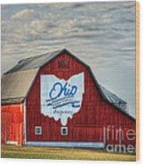 Ohio Bicentennial Barn -van Wert County Wood Print