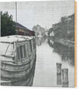 Ohio Erie Canal - Retouched Wood Print