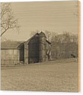 Ohio Farming Wood Print
