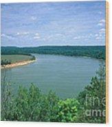 Ohio River Wood Print