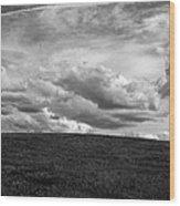 Ohio Spring Clouds 2013 Wood Print