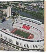 Ohio Stadium Wood Print