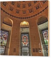 Ohio Stadium Wood Print