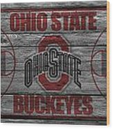 Ohio State Buckeyes Wood Print by Joe Hamilton