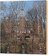 Ohio University Bryan Hall Wood Print