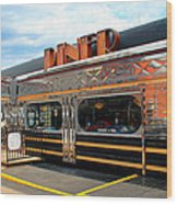 Ohio University Court Street Diner Wood Print