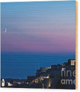 Oia Of Santorini Wood Print