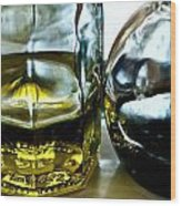 Oil And Vinegar 2 Wood Print