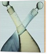Oil And Vinegar Abstract Wood Print
