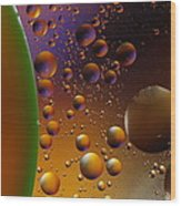 Oil And Water 2am-113878 Wood Print
