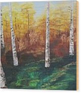 Oil Msc 005  Wood Print