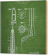 Oil Well Reamer Patent From 1924 - Green Wood Print