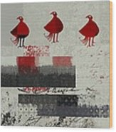 Oiselot - J106164161-2t1b Wood Print