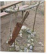 Ojibwe Arrows Wood Print