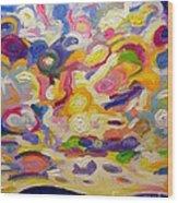 Okanagan Sky Wood Print
