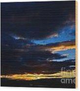 Okanagan Sunset Wood Print