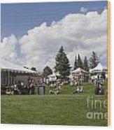 Oktoberfest Woodland Park 2014 Wood Print
