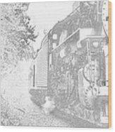 Old 765 Wood Print