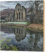 Old Abbey Wood Print by Adrian Evans