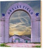 Old Abeles Field - Leavenworth Kansas Wood Print