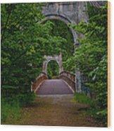 Old Alexandra Bridge Wood Print