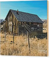 Old And Forgotten Wood Print by Robert Bales