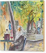 Old And Lonely In Italy 05 Wood Print
