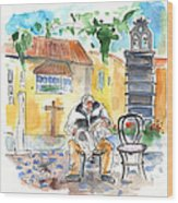 Old And Lonely In Tenerife 01 Wood Print