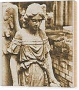 Blessed Angel   Wood Print