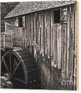 Old Appalachian Mill Wood Print