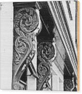 Old Architecture Wood Print