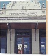 Old Atlantic Railway Station San Jose Costa Rica Wood Print
