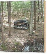 Old Auto Wood Print