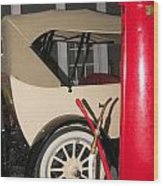 Old Automobile Wood Print
