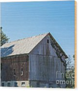 Old Barn 1  Wood Print