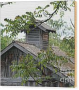 Old Barn 11 Wood Print