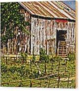 Old Barn #3 Wood Print