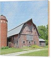 Old Barn 8008 Wood Print
