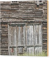 Old Barn In Maine Wood Print by Keith Webber Jr