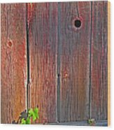 Old Barn Wood Wood Print