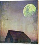 Old Barn3 Wood Print