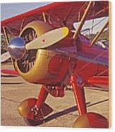 Old Biplane I I I Wood Print