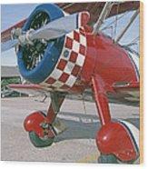 Old Biplane V Wood Print