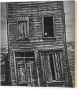Old Bodie Building Wood Print