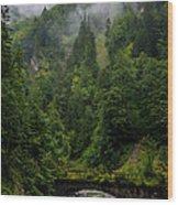 Old Bridge - Austrian Alps - Austria Wood Print